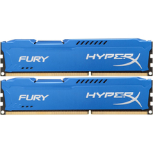 Набір HyperX OC KIT DDR3 2x8Gb 1866Mhz CL10 Fury Blue (HX318C10FK2/16)