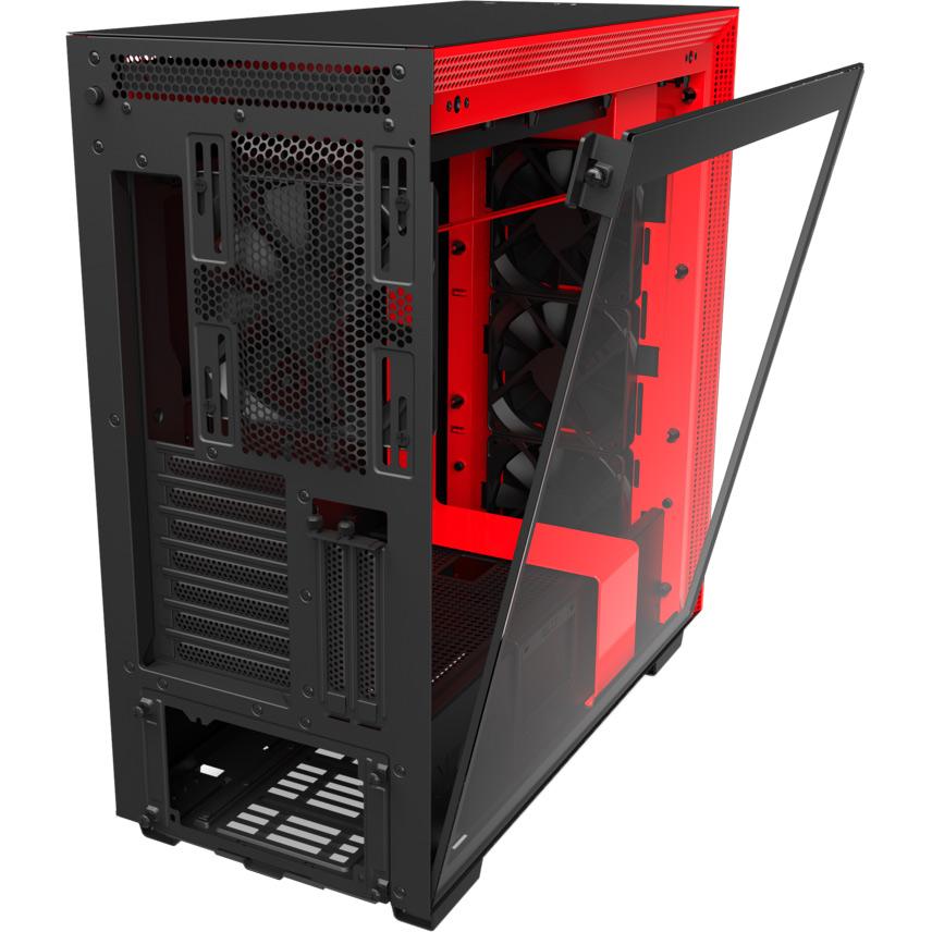 Корпус NZXT H710i Black/Red Назначение для настольного компьютера