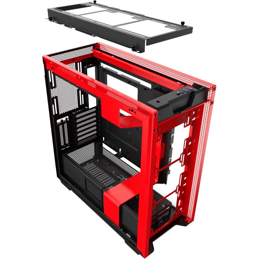 Корпус NZXT H710i Black/Red Размер материнской платы (макс.) EATX, XL-ATX, AT