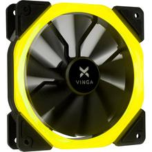 Корпусний кулер VINGA LED fan-01 yellow