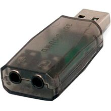 Звукова карта EXTRADIGITAL USB Sound card 3D (KBU1800)