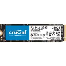 SSD накопичувач CRUCIAL P2 250GB SSD, M. 2 2280, PCIe Gen3 x4 (CT250P2SSD8)