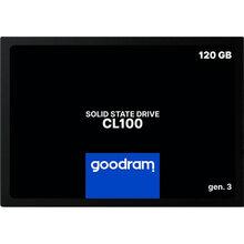SSD накопичувач GOODRAM CL100 120 GB GEN.3 SATAIII TLC (SSDPR-CL100-120-G3)
