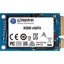 SSD накопитель KINGSTON mSATA SKC600 256GB 3D TLC (SKC600MS/256G)