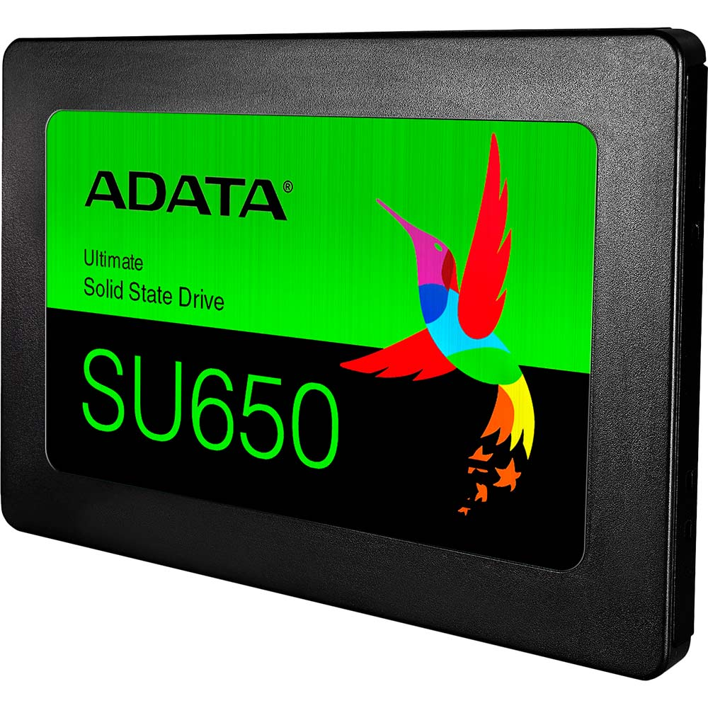 SSD накопитель ADATA SU650 120GB SATAIII 3D TLC (ASU650SS-120GT-R) Назначение для настольного компьютера