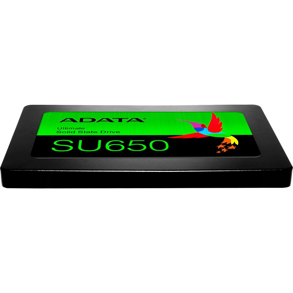 SSD накопитель ADATA SU650 120GB SATAIII 3D TLC (ASU650SS-120GT-R) Тип твердотельный накопитель (SSD)