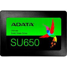 SSD накопитель ADATA SU650 480GB SATAIII 3D TLC (ASU650SS-480GT-R)