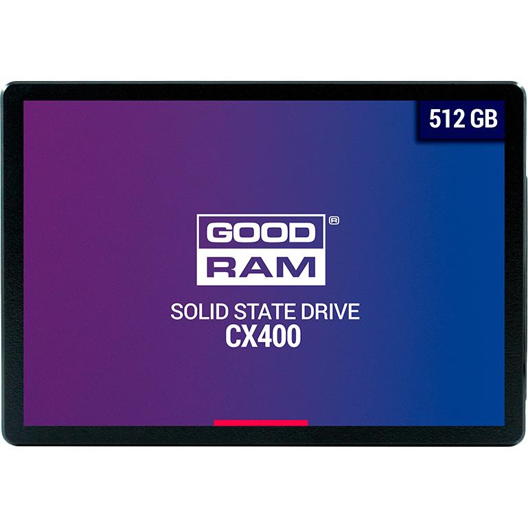 SSD накопитель GOODRAM CX400 512GB SATAIII 3D TLC (SSDPR-CX400-512)