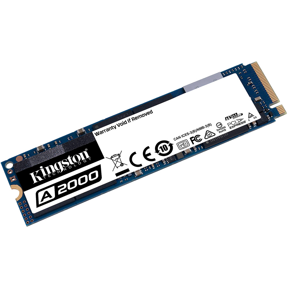 SSD накопитель KINGSTON A2000 M.2 250GB NVMe (SA2000M8/250G) Назначение для настольного компьютера