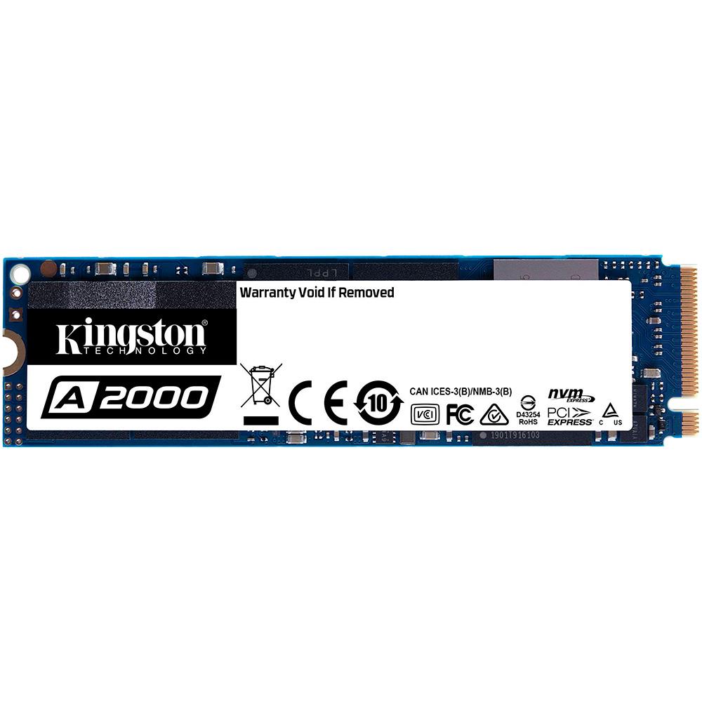 SSD накопитель KINGSTON A2000 M.2 250GB NVMe (SA2000M8/250G)