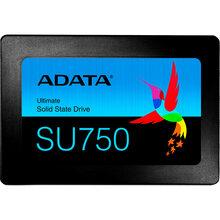 SSD накопитель ADATA SU750 256GB SATAIII 3D TLC (ASU750SS-256GT-C)