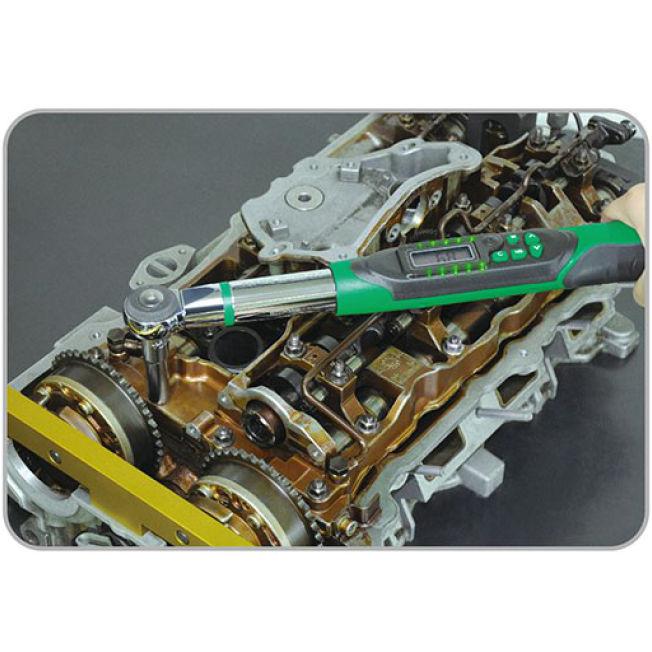 """Динамометричний ключ TOPTUL 6.8-135Нм 3/8"""" (DT-135I3) Розмір вхідного з'єднання 3/8''"""