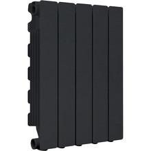 Радиатор FONDITAL Blitz Super B4 500/100 10 секций Black Coffee (46124)