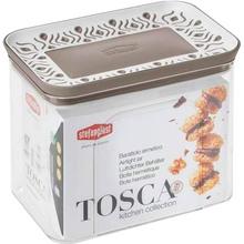 Емкость для хранения STEFANPLAST TOSСA 1.2 л White/Grey (55600)