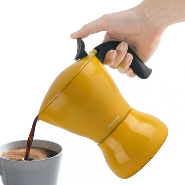 Гейзерная кофеварка RONDELL RDS-1116 Материал алюминий