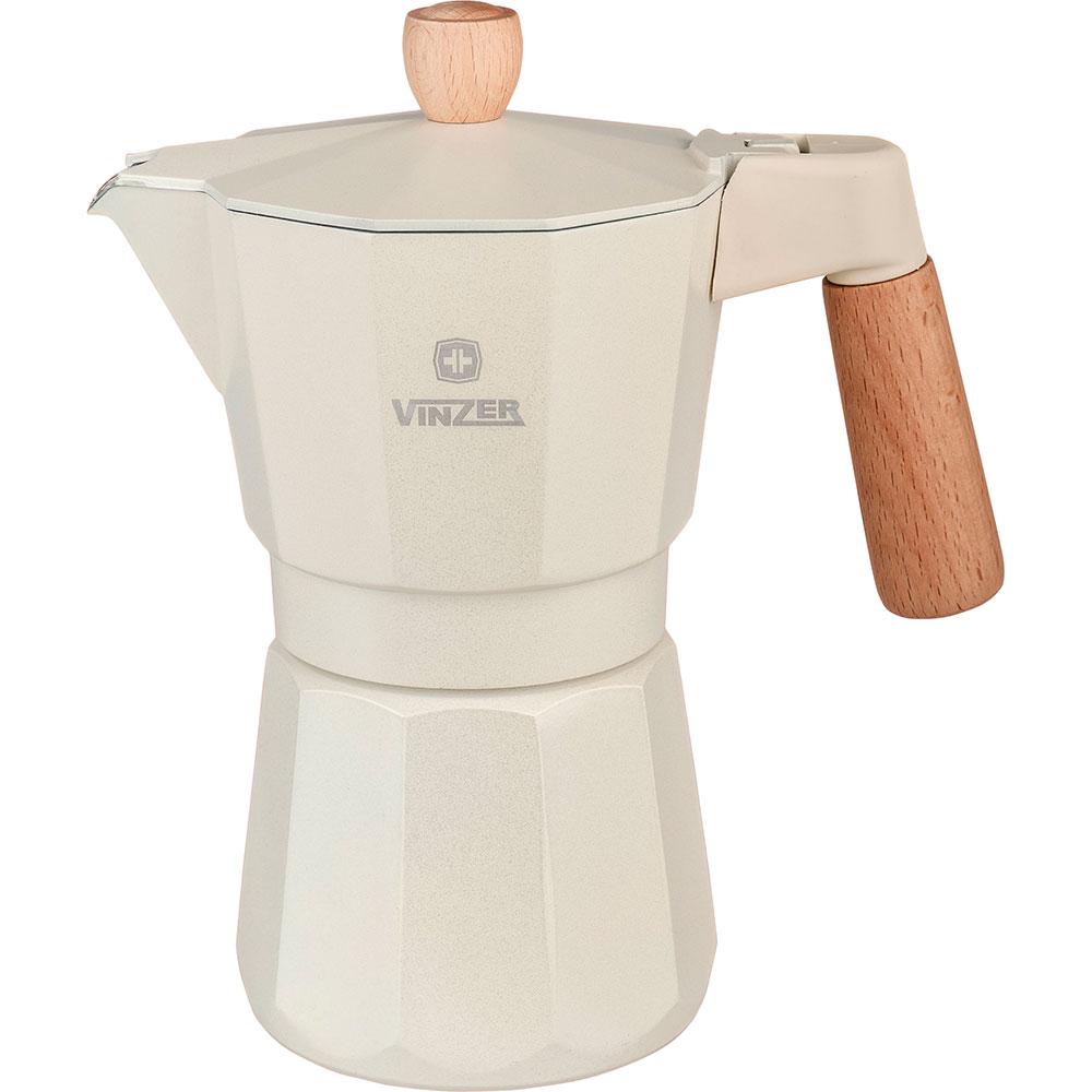 Гейзерная кофеварка VINZER 330 мл Latte Crema (89381)