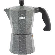 Гейзерная кофеварка VINZER Moka Granito (89398)