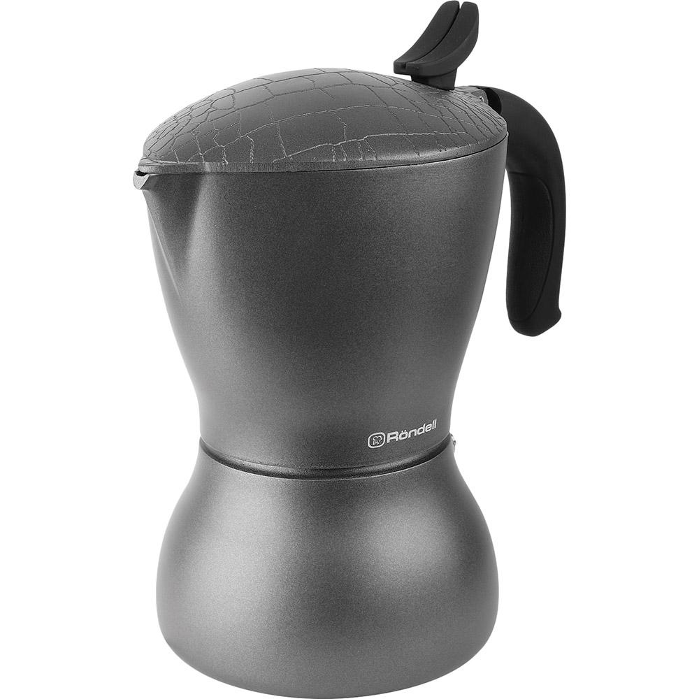 Гейзерная кофеварка RONDELL Escurion Grey 450 мл (RDA-1117) Материал алюминий