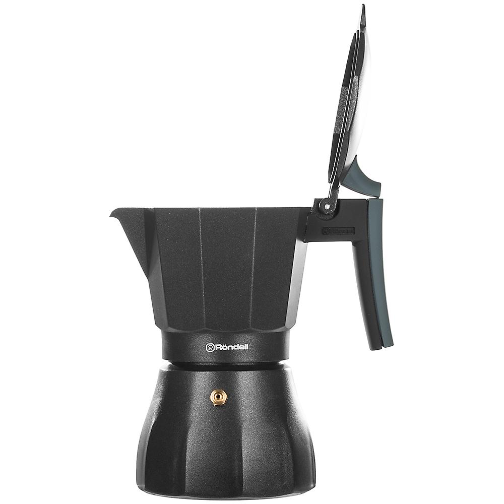 Гейзерная кофеварка RONDELL Kafferro 300 мл (RDS-499) Количество приготавливаемых чашек 6