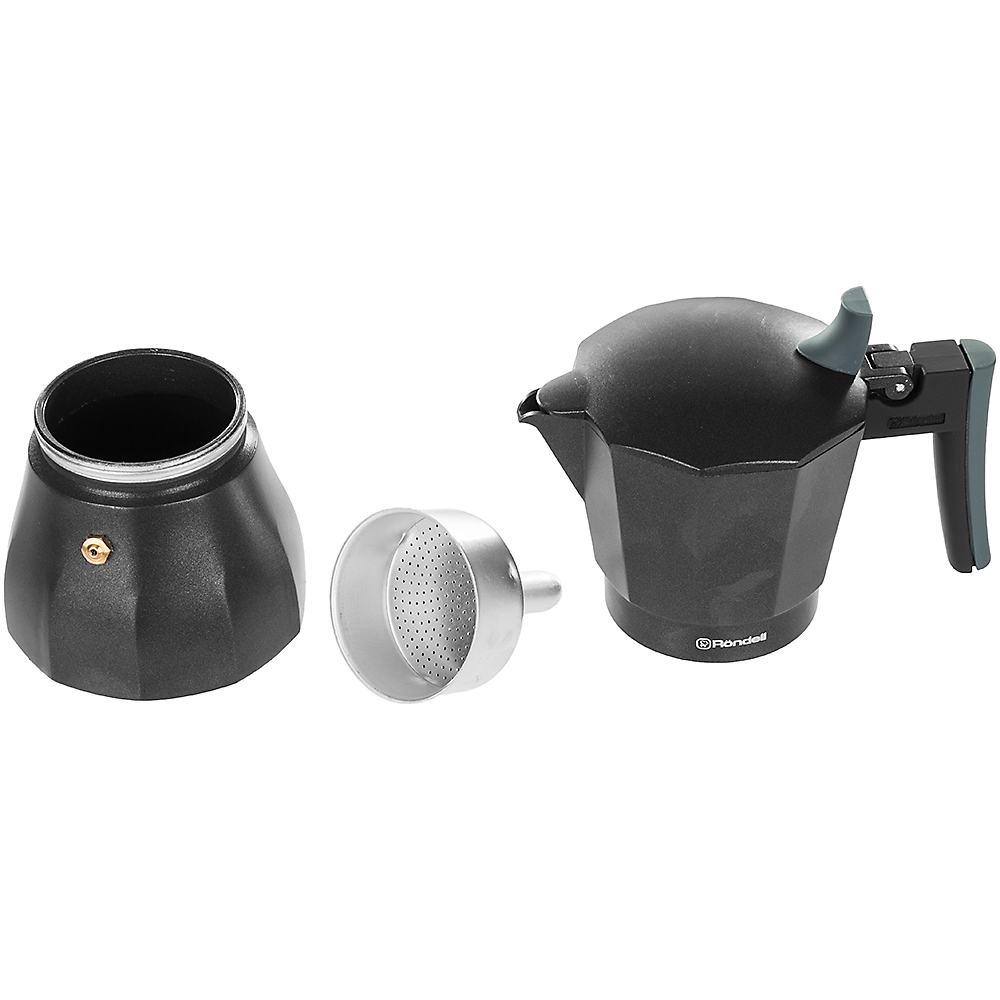 Гейзерная кофеварка RONDELL Kafferro 300 мл (RDS-499) Объем 300