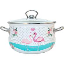 Кастрюля INFINITY Love Flamingo SD-1377 3.7 л (6625847)