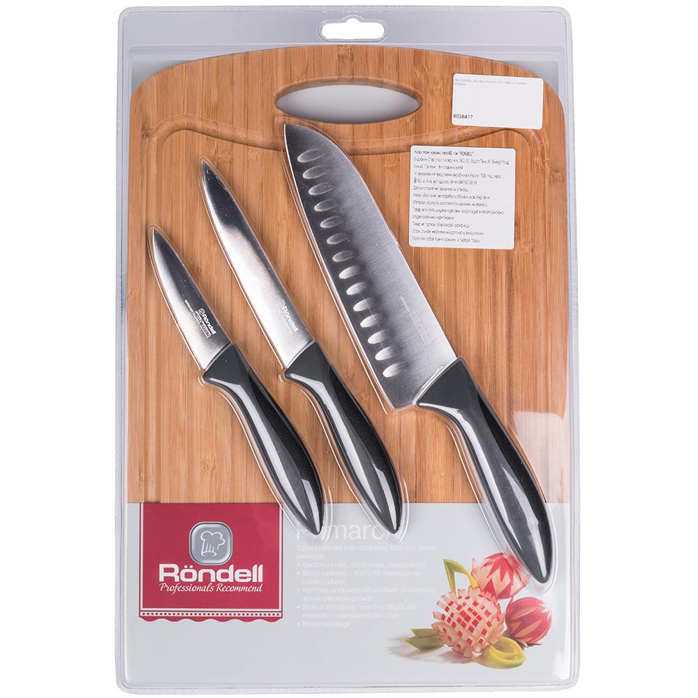 Набор ножей RONDELL RD-462 Primarch (ST) Японские ножи сантоку (поварской)