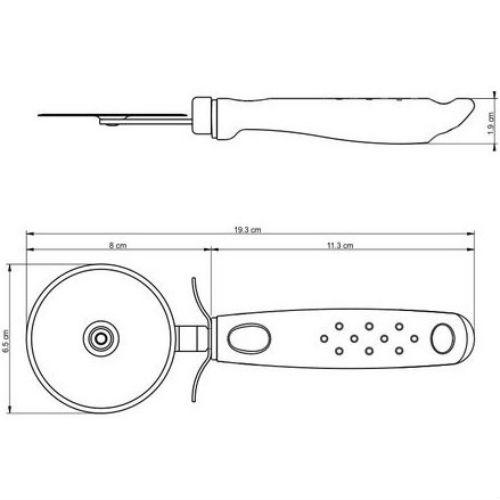 Нож TRAMONTINA Utilita (25625/170) Количество ножей 1