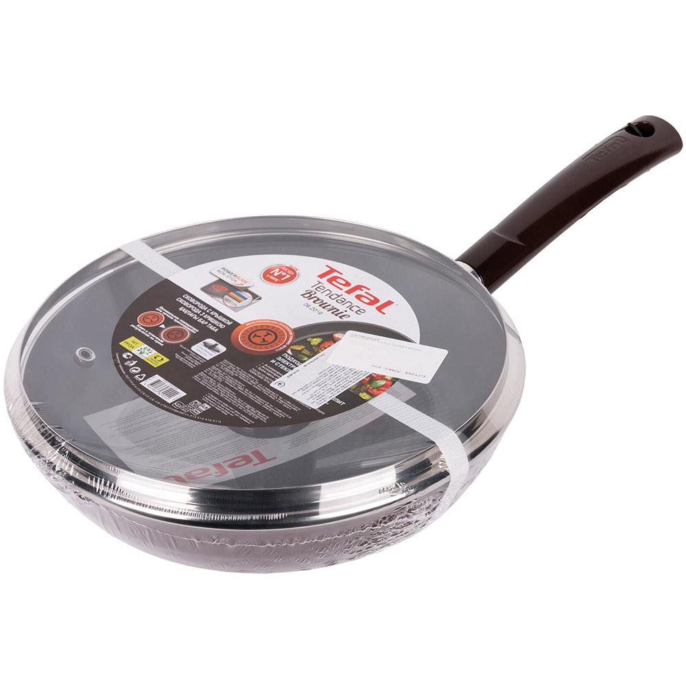 Сковорода TEFAL TENDANCE BROWNIE 28 см (4182928_SET) Тип классическая