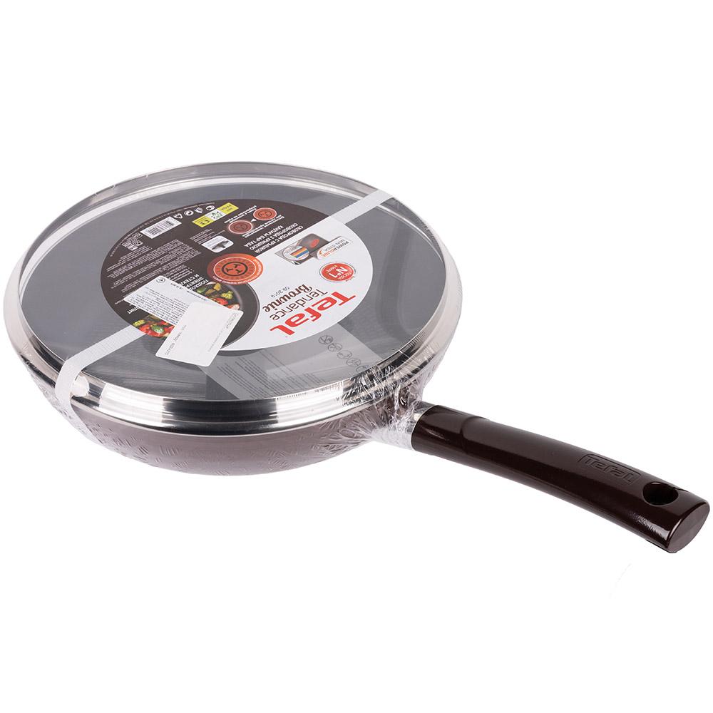Сковорода TEFAL TENDANCE BROWNIE 28 см (4182928_SET) Диаметр 28