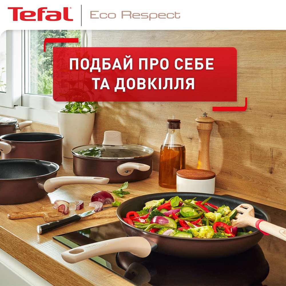 Сковорода TEFAL ECO RESPECT 24 см (G2540453) Тип классическая