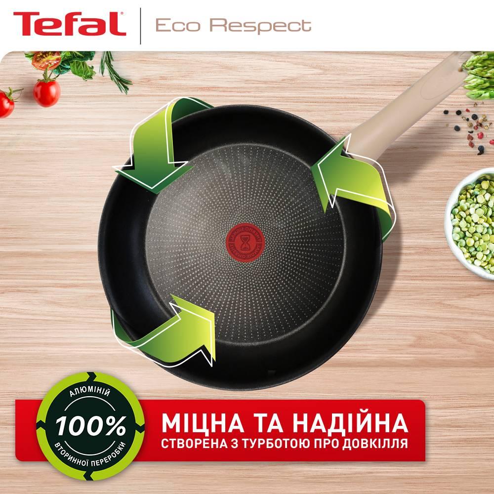 Сковорода TEFAL ECO RESPECT 24 см (G2540453) Диаметр 24