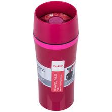Термокружка TEFAL TRAVEL MUG FUN 0.36 л малиновый (K3072114)