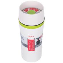 Термокружка TEFAL TRAVEL MUG FUN 0.36 л белый (K3070114)