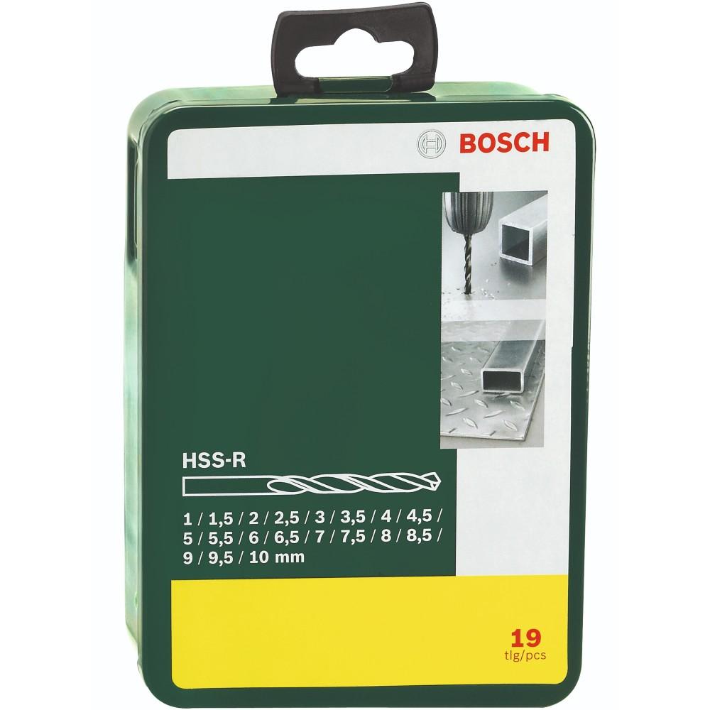 Набор сверл BOSCH HSS-R 1-10 ММ 19 шт (2.607.019.435) Тип набор сверл