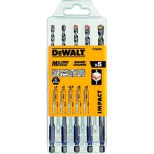 Набор сверл DEWALT Multi Material Impact 5 шт (DT60099)