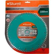 Диск алмазный Sturm Turbo 230x22 мм (5170205)