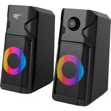 Колонки HAVIT HV-SK204 RGB USB Black