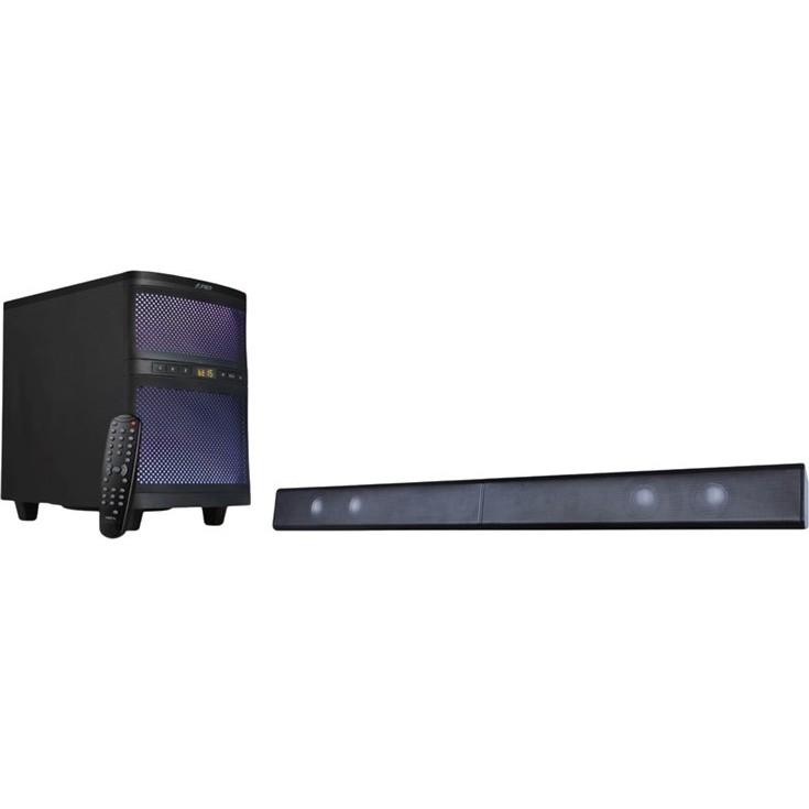 Колонки F&D T-200X black Общая выходная мощность 70