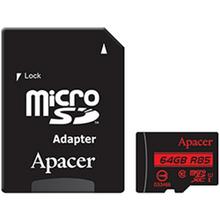Карта памяти APACER microSDXC 64GB UHS-I U1 (AP64GMCSX10U5-R)