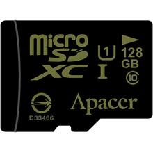 Карта пам'яті APACER microSDXC 128GB UHS-I U1 (AP128GMCSX10U1-R)