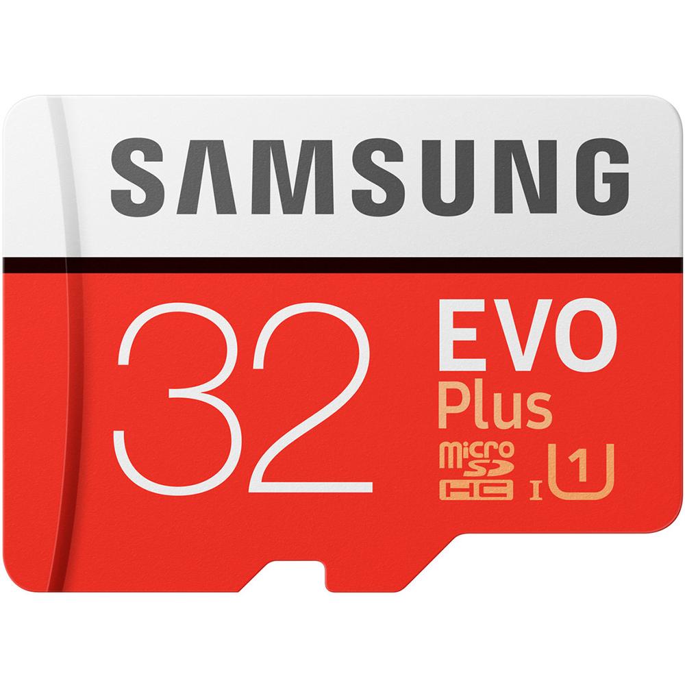 Карта памяти SAMSUNG microSDHC 32GB EVO PLUS UHS-I (MB-MC32GA/RU) Тип карты micro-SDНС