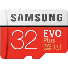 Карта памяти SAMSUNG microSDHC 32GB EVO PLUS UHS-I (MB-MC32GA/RU)