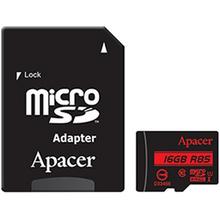 Карта памяти APACER microSDHC 16GB UHS-I U1 (AP16GMCSH10U5-R)