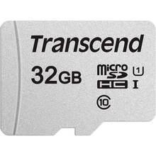Карта памяти TRANSCEND microSDHC 300S 32GB UHS-I U1 (TS32GUSD300S)