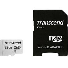 Карта памяти TRANSCEND microSDHC 32GB 300S UHS-I (U1) (TS32GUSD300S-A)