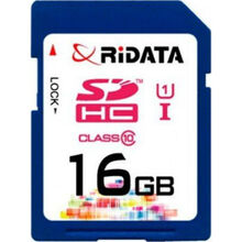 Карта памяти RIDATA SDHC 16GB Class 10 UHS-I (FF959217)