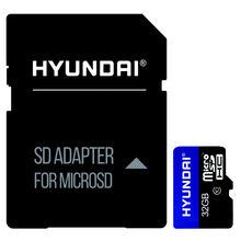 Карта памяти HYUNDAI microSDHC 32GB UHS-I Class 10 + SD-adapter (SDC32GU1)