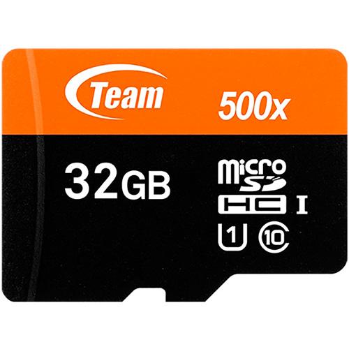 Карта памяти TEAM Micro SDHC/SDXC 32GB UHS-I (TUSDH32GCL10U02)