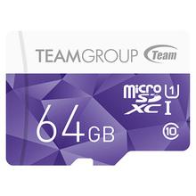 Карта памяти TEAM microSDXC 64GB Color Card UHS-I Class 10 (TCUSDX64GUHS02)