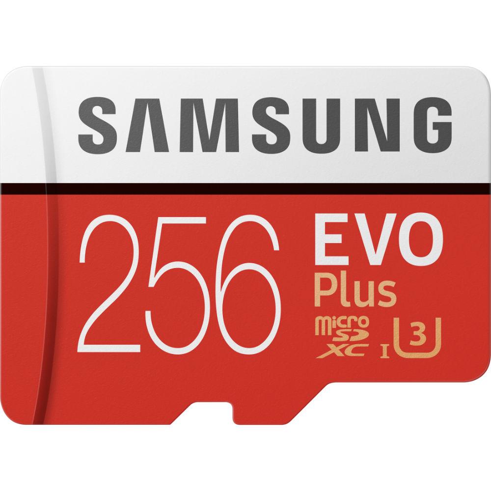 Карта памяти SAMSUNG EVO Plus 256GB UHS-I (MB-MC256HA/RU)